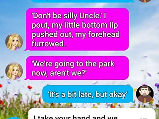 Kind uncle gets horny with his tiny niece text sext roleplay one