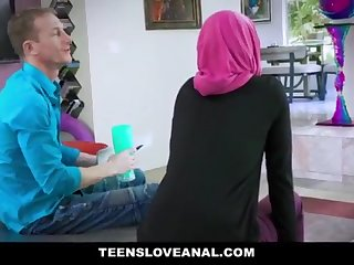 TeensLoveAnal - Dear Muslim Teenage Rectal Nailed in Hijab