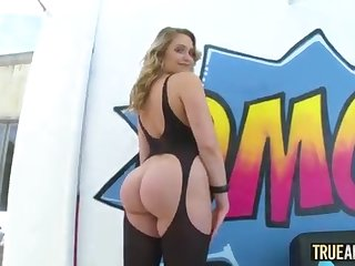 TRUE ASSFUCK Bouncy arse Mia Malkova rectally gaped