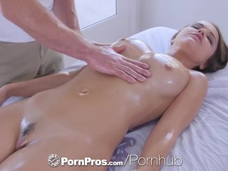 PornPros cascading moist muff rubdown and tear up be beneficial to chesty Dillion Harper best porn