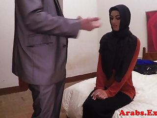 Arab habiba fucked like a whore be incumbent on cash