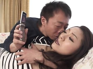Appetizing chinese hotty gets wooly seize frigged with the addition of played sex video