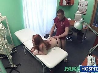 Faux convalescent home doc smashes a patient from behind porn video