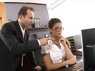 Sexy sexy assistant penetrated pooped in the office easy porn