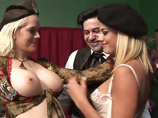 Lengths Interesting Rectal 3Some Hook-Up With Whorey Blondes