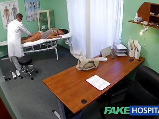 FakeHospital Dirty milf sex addict gets fucked off out of one's mind the doctor