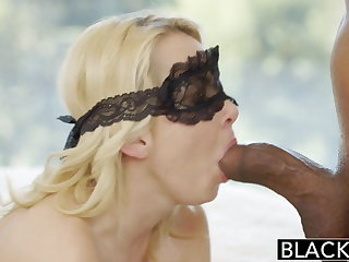 BLACKED Pretty Blonde Wife Aaliyah Love together with Her Black Lover